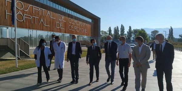 La Generalitat busca «eliminar fronteres» pels sistemes d'emergència de la Cerdanya
