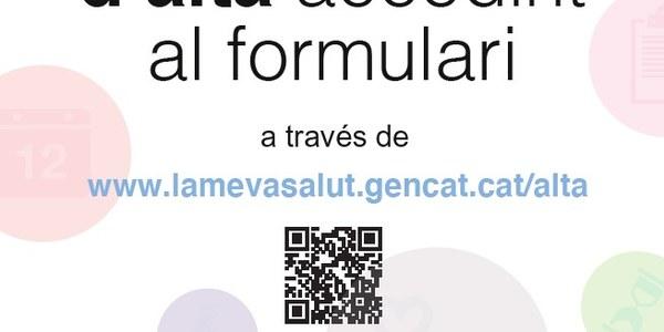 """""""La meva/salut"""": El teu espai de salut digital"""